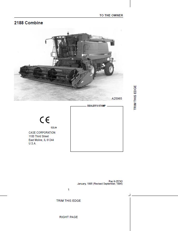 case combines 2188 2388 pdf manuals download. Black Bedroom Furniture Sets. Home Design Ideas
