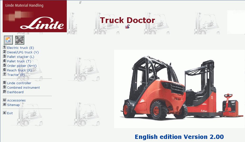 Linde Truck Doctor 2 0 18 Diagnostic Program