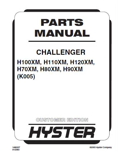 hyster challenger h100xm h110xm h120xm h70xm h80xm h90xm. Black Bedroom Furniture Sets. Home Design Ideas