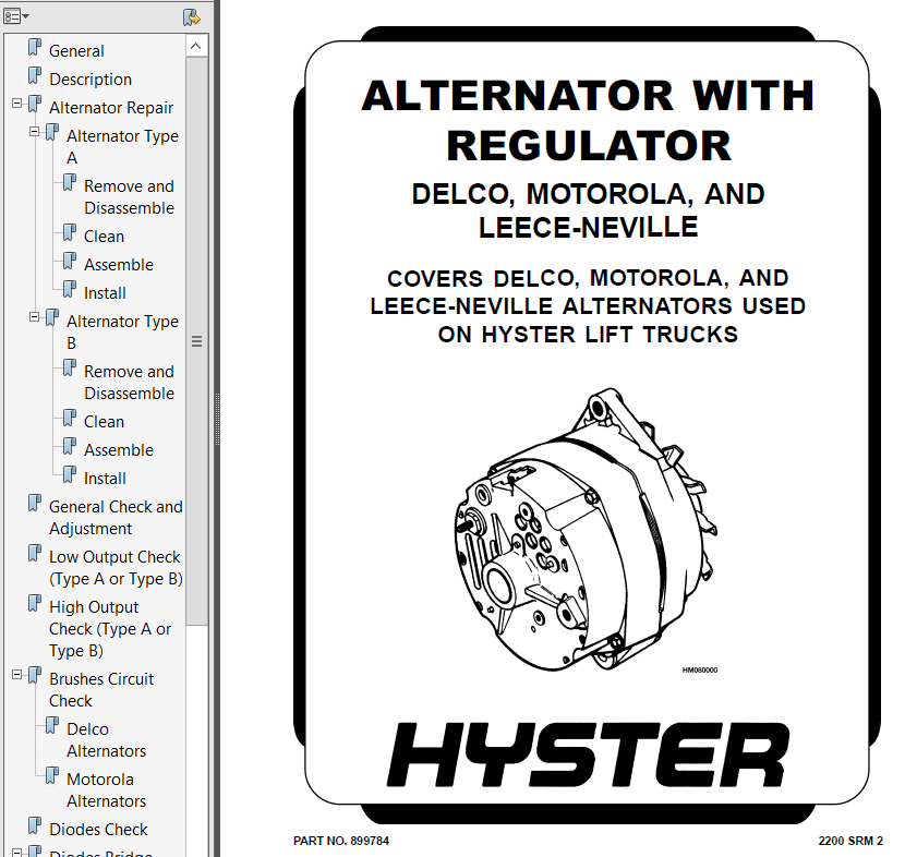 hyster class 5 for g005 engine trucks pdf repair manual download
