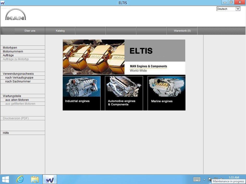 Man Eltis 3 Parts Catalog