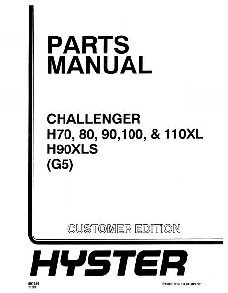 Hyster Fork Lift Parts Catalog Com