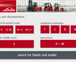 spare parts catalog repair manual Linde Fork Lift Truck Spare Parts + Repair 2014