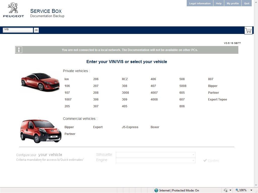 Peugeot Service Box 2014 Parts and Service Manual, repair manual, Cars catalogues