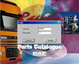 spare parts catalog DAF RAPIDO 2014