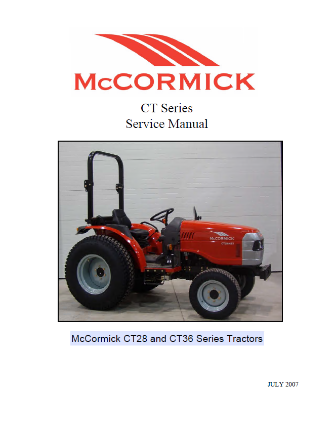 mccormick ct28 ct36 series tractors service manual pdf rh epcatalogs com