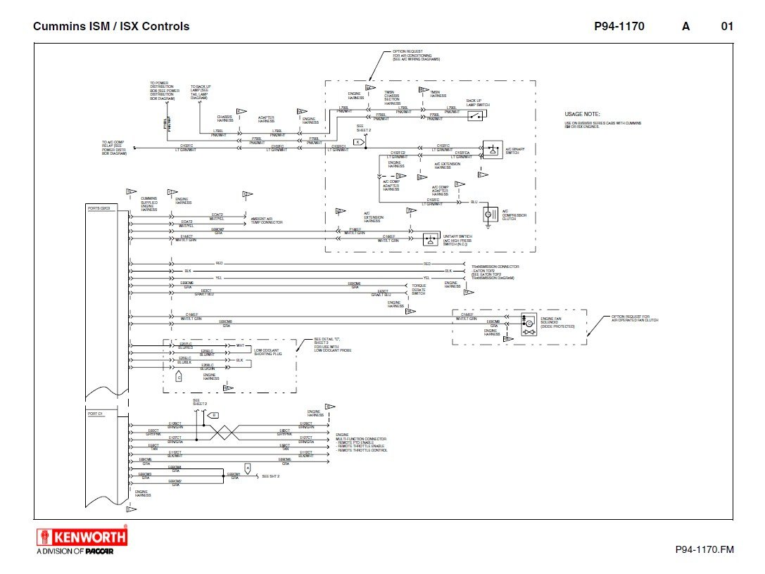 kenworth t660 cummins ism isx electrical schematics manual pdf kenworth wiring diagram pdf kenworth wiring harness \u2022 wiring kenworth battery wiring diagram at eliteediting.co
