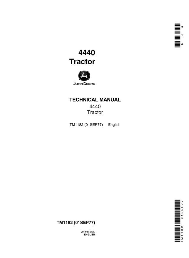 john deere 4440 tractor technical manual tm1182 pdf john deere 4440 tractor technical manual tm1182 pdf, repair manual john deere 4440 alternator wiring diagram at bayanpartner.co