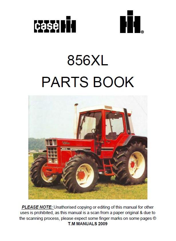 Case 856xl Tractor Parts Book Pdf
