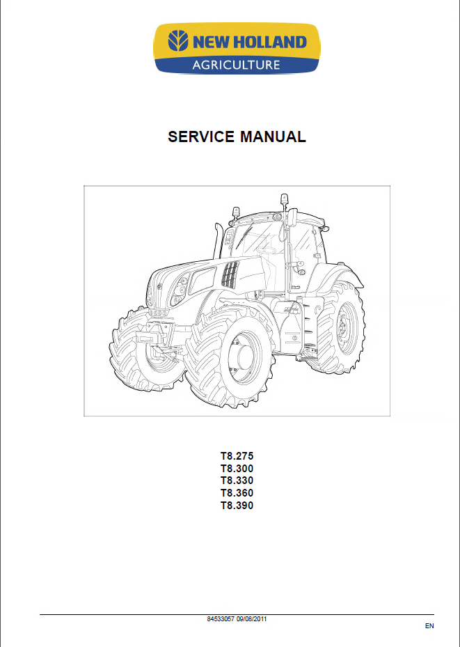 new holland t8 275 t8 300 t8 330 t8 360 t8 390 service manual pdf repair manual new holland t8 275 t8 300 t8 330 t8 360