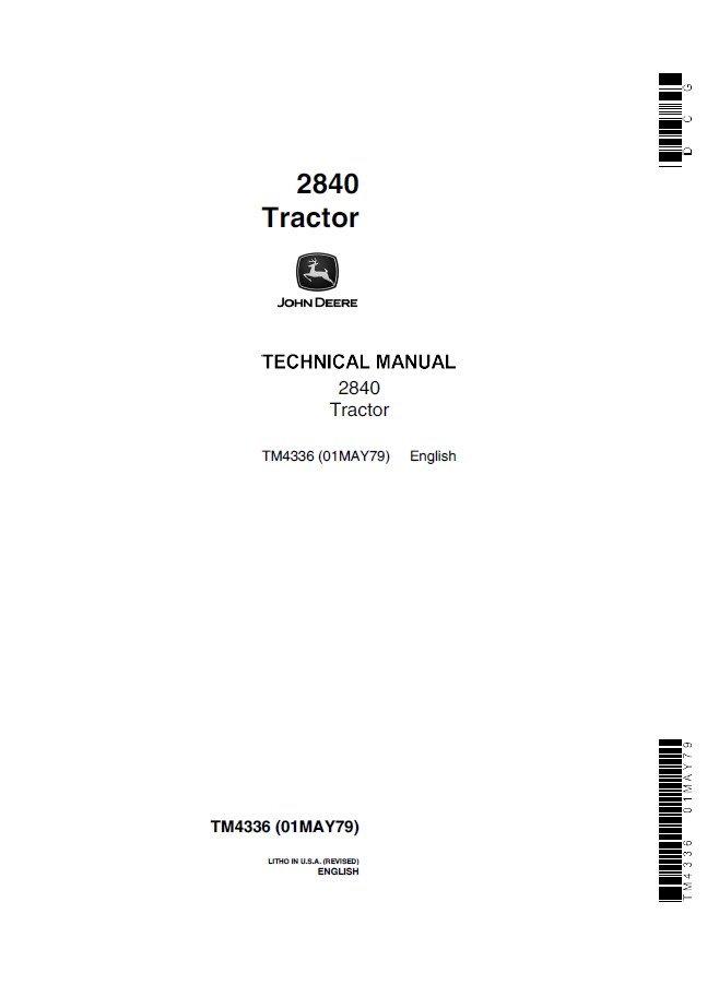John Deere 2840 Tractor Tm4336 Technical Manual Pdf. Repair Manual John Deere 2840 Tractor Tm4336 Technical Pdf. John Deere. John Deere 2840 Pto Diagram At Scoala.co