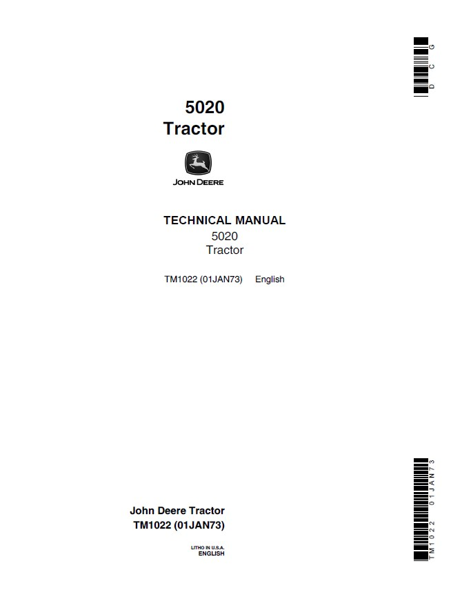 John Deere 5020 Tractor TM1022 Technical Manual PDF on john deere 5020 specifications, john deere 5020 flywheel, john deere 5020 parts catalog, dixon 5020 wiring diagram, john deere 5020 tractor, john deere 5020 lights, john deere 5020 fuel system diagram, john deere 5020 brochure, john deere 5020 clutch, john deere 5020 air cleaner,