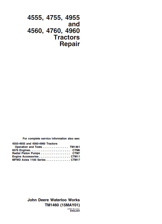 john deere 4960 wiring diagram auto electrical wiring diagram \u2022 john deere 318 wiring-diagram john deere 4555 4755 4955 4560 4760 4960 tractors pdf rh epcatalogs com john deere electrical diagrams john deere riding mower diagram