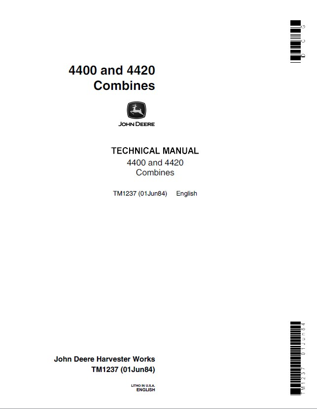 john deere 4410 technical manual