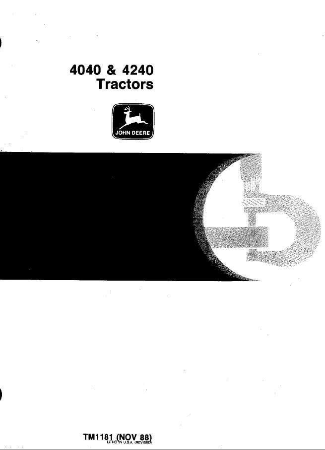 john deere 4040 4240 tractors tm1181 pdf manual rh epcatalogs com