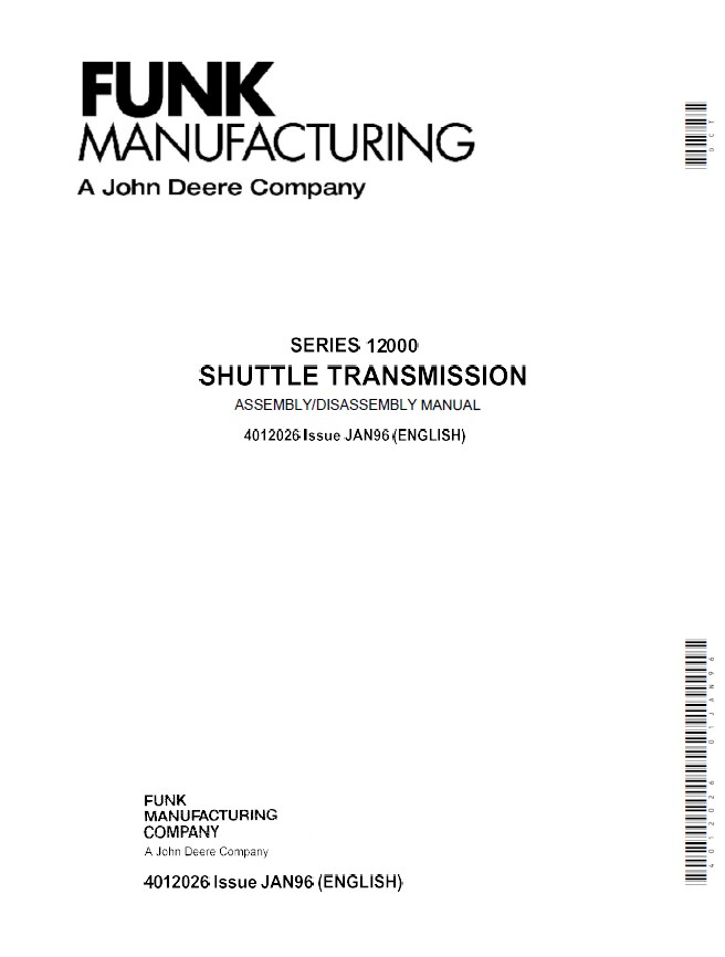 john deere 12000 series shuttle transmission pdf manual Service ManualsOnline airport service manual part 7