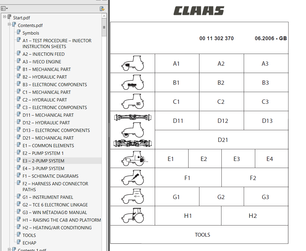 Claas Nectis Workshop Repair Manual Easy To Repair Tractor Manuals & Publications Business, Office & Industrial