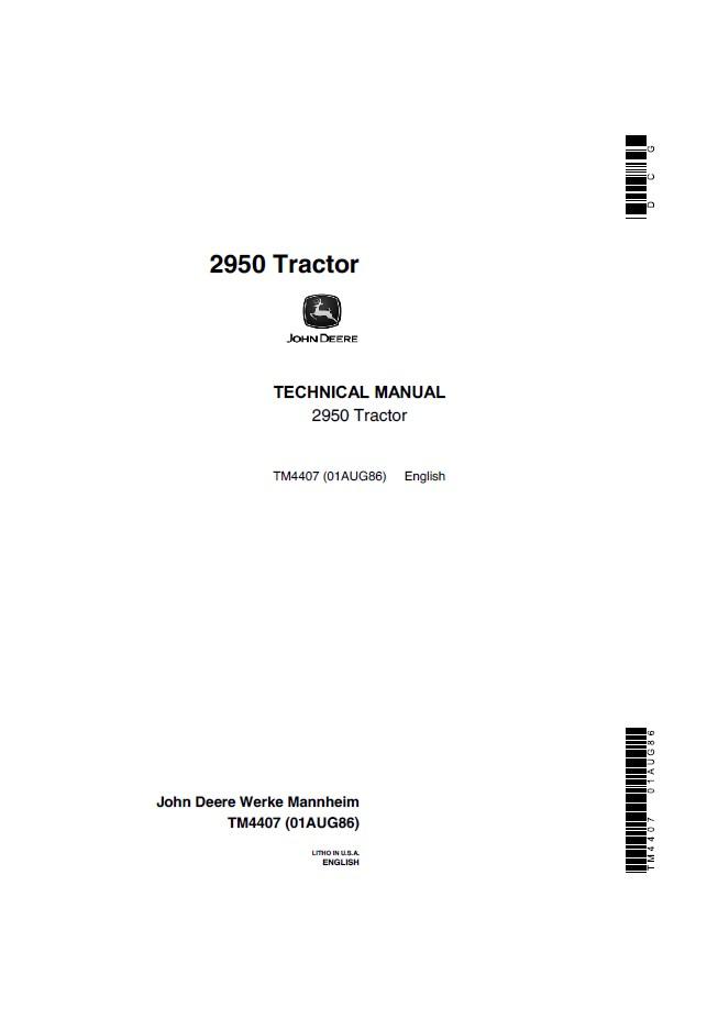 john deere 2950 tractor technical manual tm4407 pdf service manual john deere 2950 tractor tm4407 technical manual pdf, repair manual john deere 2950 wiring diagram at bakdesigns.co