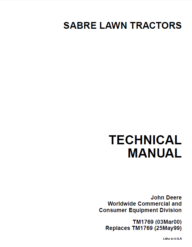 john deere sabre lawn garden tractor tm1769 repair manual pdf john deere sabre lawn garden tractor tm1769 repair manual pdf john deere sabre 1438 wiring diagram at mr168.co