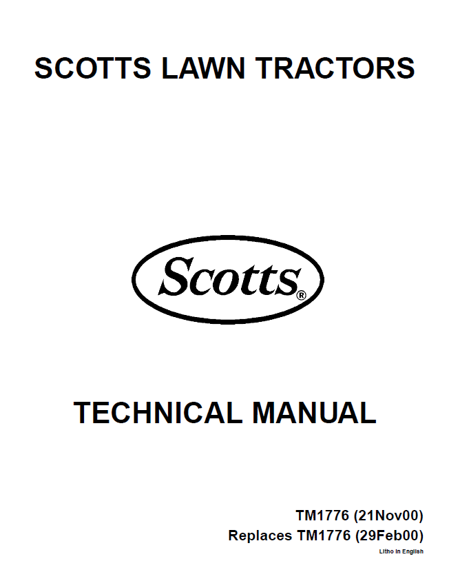 john deere scotts s1642 s1742 s2046 s2546 lawn garden tractor repair manual john deere s1642 s1742 s2046 s2546 limited edition scotts lawn scotts s1742 wiring diagram at n-0.co