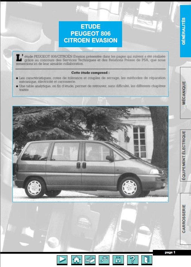 peugeot 806 fiat citroen evasion jumpy 1994 2001 pdf rh epcatalogs com peugeot 806 repair manual pdf peugeot 806 manuel