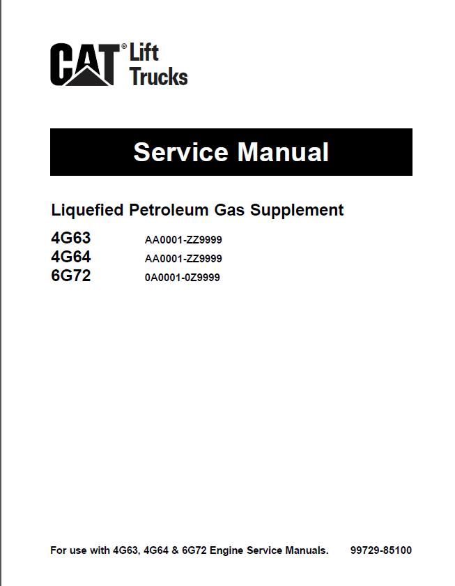 cat 4g63 64 6g72 gc15k 18k 20k hp 25k hp 30k pdf rh epcatalogs com mitsubishi 4g63 engine repair manual pdf mitsubishi 4g63 repair manual
