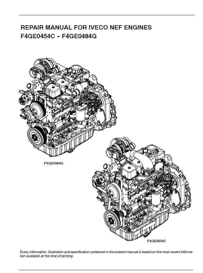 engine repair diagram download iveco nef f4ge0454c f4ge0484g engines pdf  download iveco nef f4ge0454c