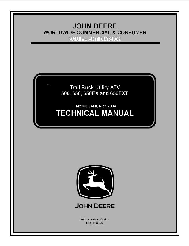 john deere 500 650 650ex 650ext trail buck utility atv technical manual pdf john deere 500, 650, 650ex, 650ext trail buck utility atv tm2160 john deere buck 500 wiring diagram at suagrazia.org