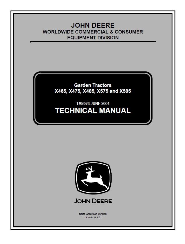 john deere x465 x475 x485 x575 x585 lawn garden tractor service manual pdf x475 wiring diagram wiring all about wiring diagram gx345 wiring diagram at aneh.co
