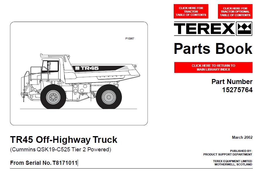 terex tfc 45 service manual