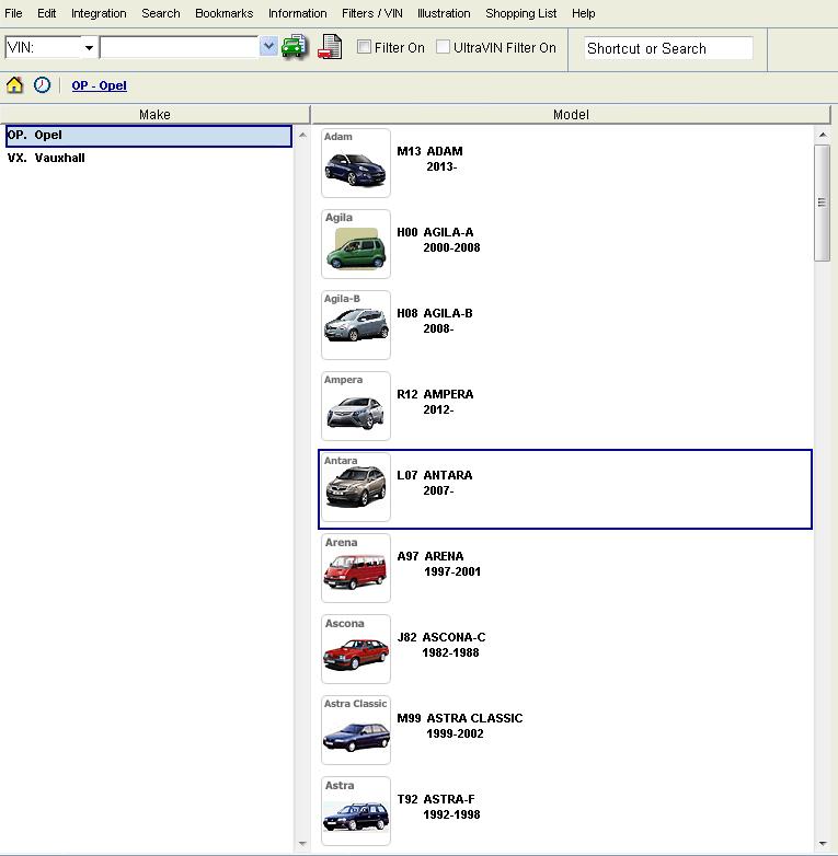 spare parts catalog 2014 for Daihatsu (Microcat)