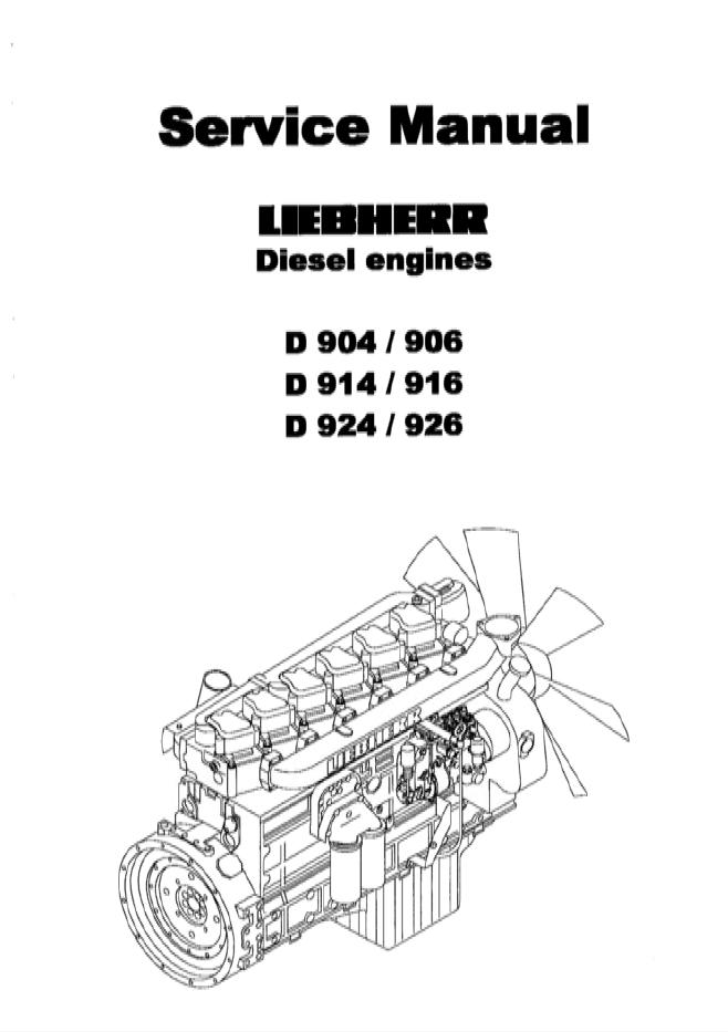liebherr d 904