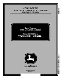 John Deere L L L L Lawn Tractors Technical Manual Pdf