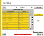 Diagnostic Software JETI Judit v4.30 Diagnostic software