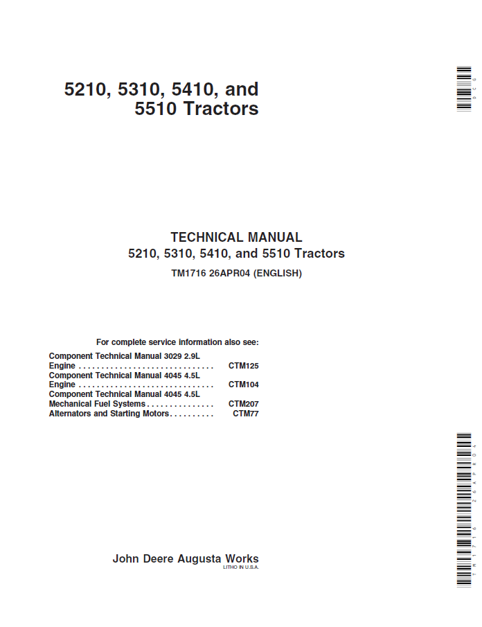 John Deere Engine Wiring Diagram - Wiring Diagram Instructions