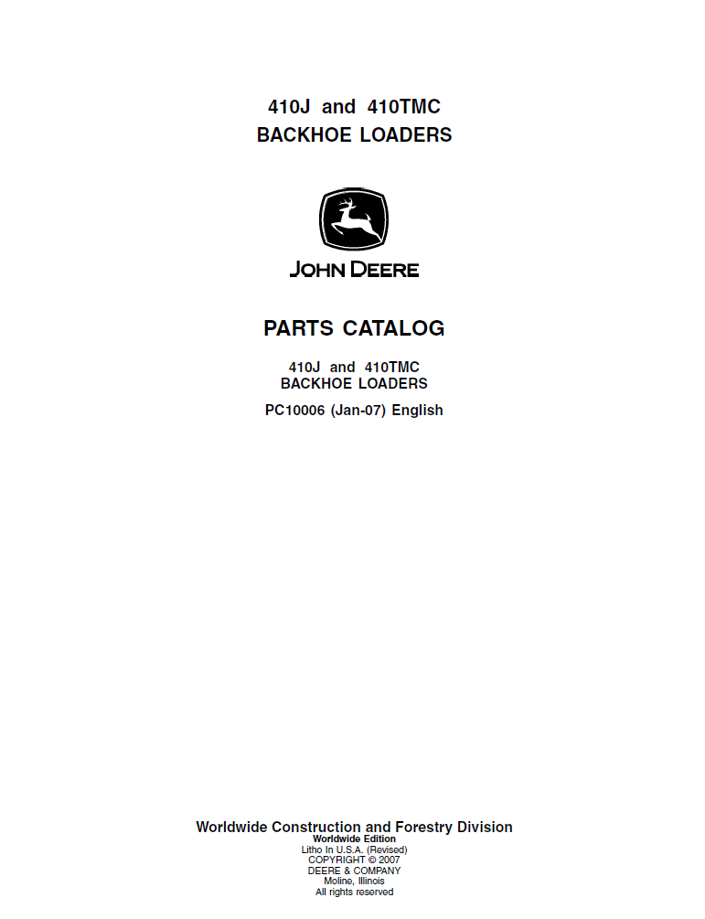 john deere 410j 410tmc backhoe loader parts manual pdf rh epcatalogs com john deere 410 backhoe parts catalog 410 John Deere Operator Manual