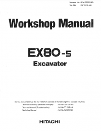 1825 as well 321054926911 furthermore 200466051481 in addition Hitachi Ex80 5 Excavator Workshop Manual W152e Na Pdf additionally 260557147496. on hitachi ex 60 excavator parts manual