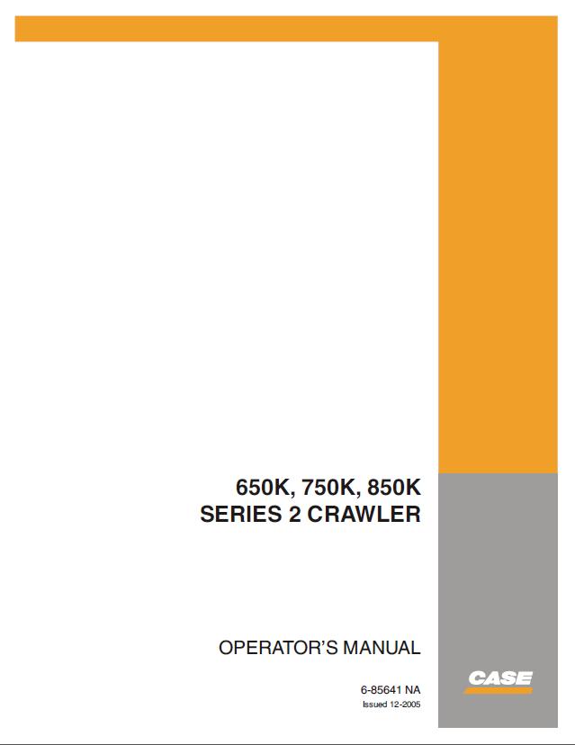 case 650k tier ii 750k tier ii 850k tier ii crawler pdf. Black Bedroom Furniture Sets. Home Design Ideas
