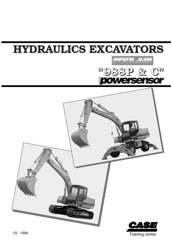 case 988p c powersensor hydraulics excavators pdf manual rh epcatalogs com Section 988 Gain FM 988