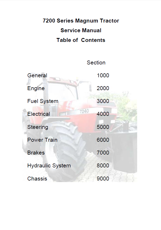 ase ih 7200 series magnum tractors service manual pdf. Black Bedroom Furniture Sets. Home Design Ideas