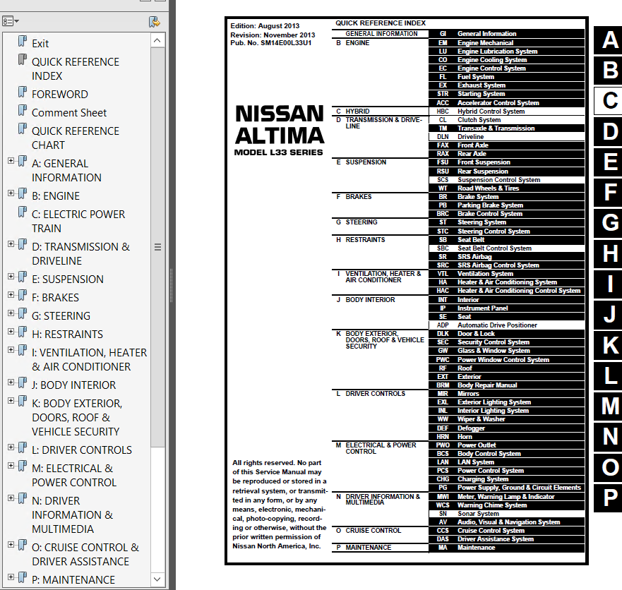 2020 Nissan Altima Manual Guide