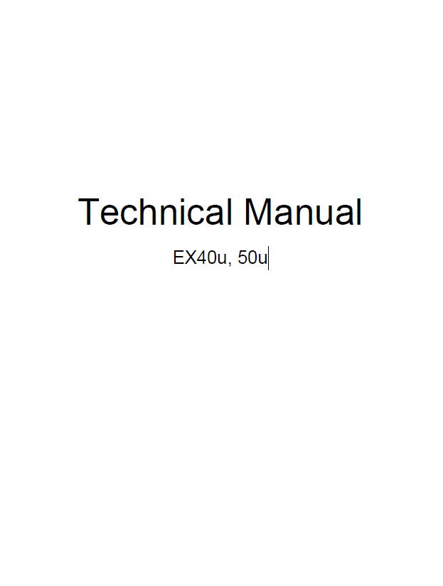 hitachi ex40u  50u excavator technical workshop manual pdf Hitachi StarBoard Manual Hitachi Repair Manual