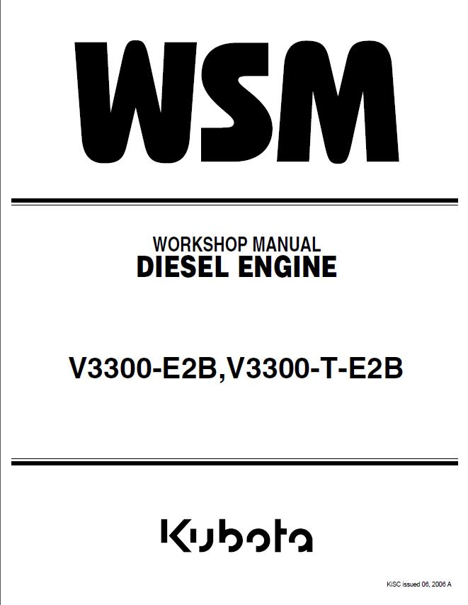 [FPWZ_2684]  Kubota V3300-E2B, V3300-T-E2B Engines Manual PDF 9Y011-02914 | Kubota Diesel Engine Wiring Diagram |  | EPCATALOGS