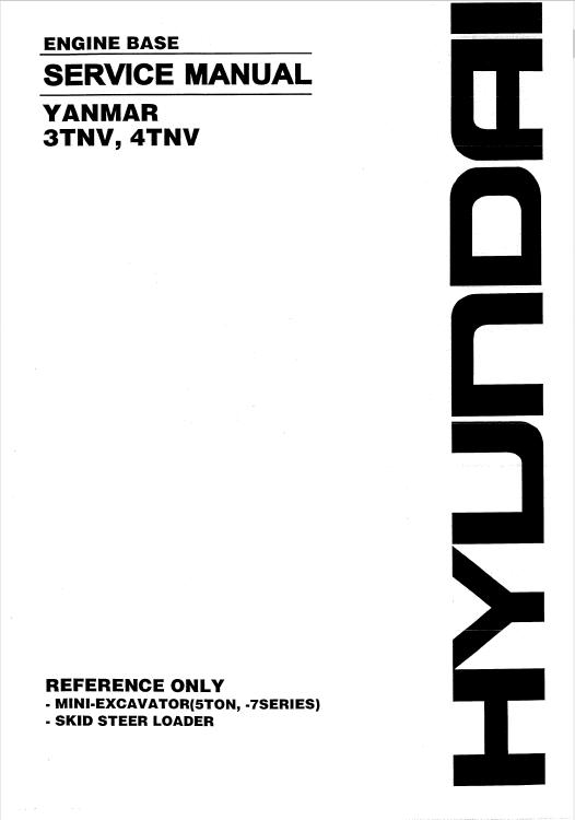 download yanmar engine 3tnv