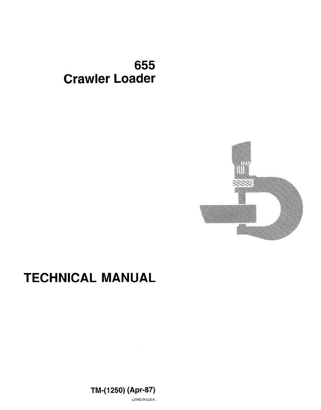 john deere 655 crawler loader tm1250 technical manual John Deere 755 Wiring Diagram repair manual john deere 655 crawler loader tm1250 technical manual pdf