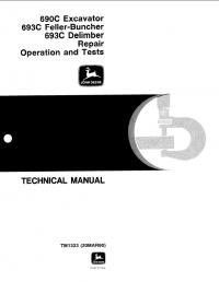 John Deere    690C    693C Repair Operation Tests TM1323 PDF