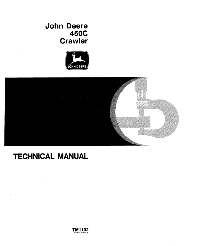 john deere 450c crawler tm1102 technical manual pdf john deere 350c wiring diagram #9