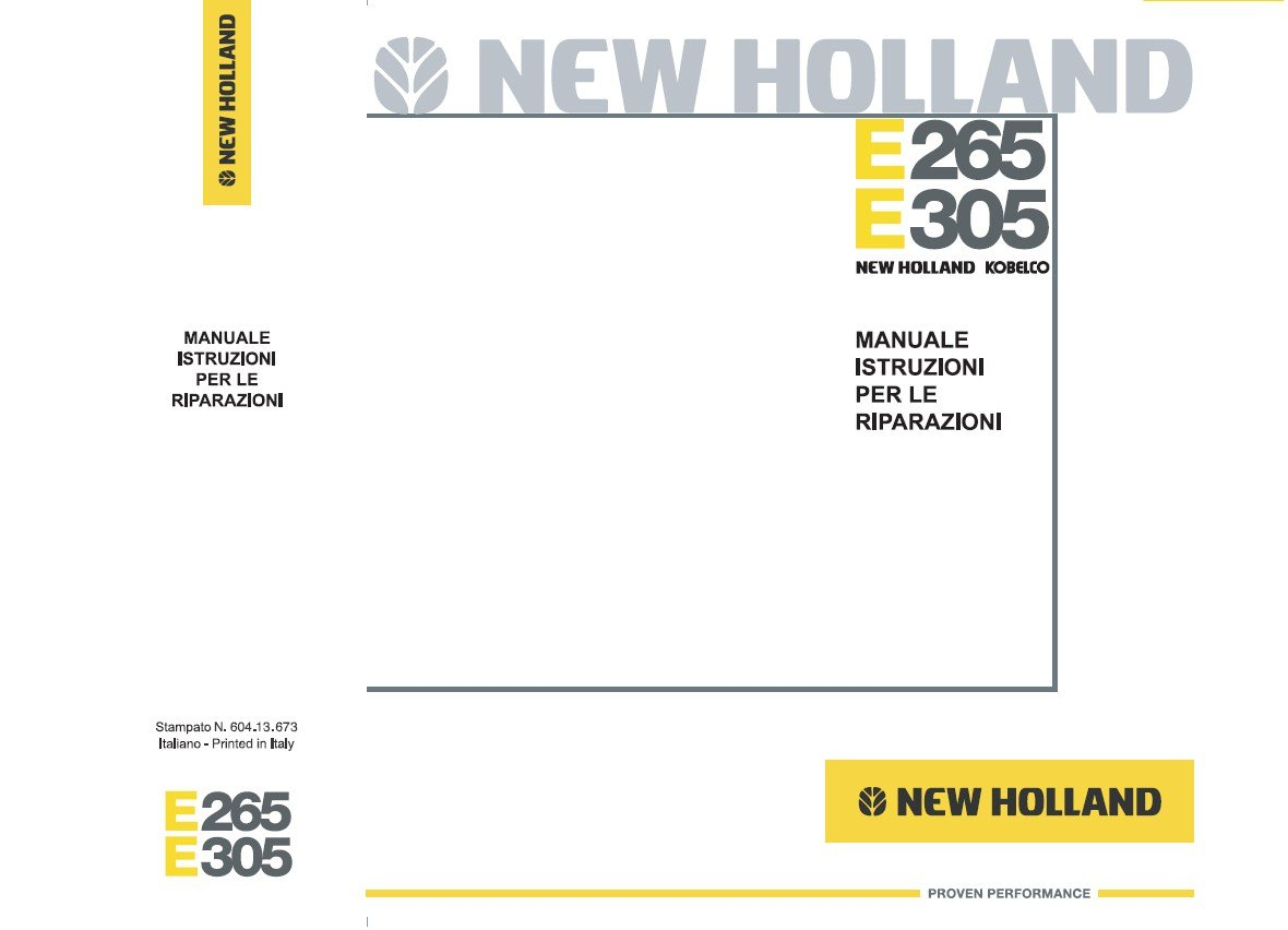 New holland Hw325 manual download on