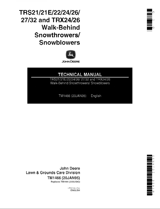 john deere trs21 repair manual