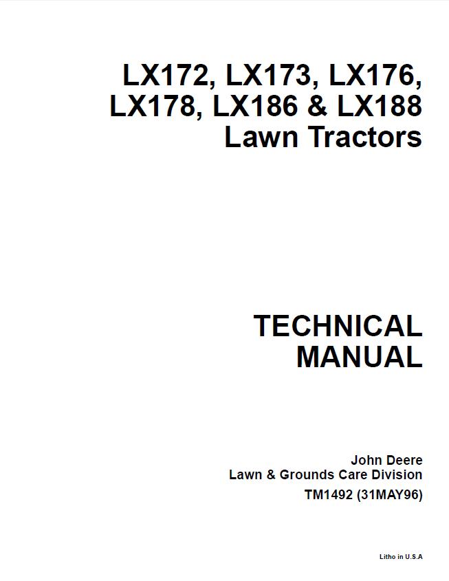 John Deere Lx172 Wiring Diagram
